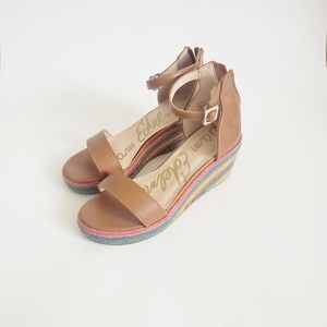 SAM EDELMAN Azalia Ray Saddle Girl Sandals Size 1